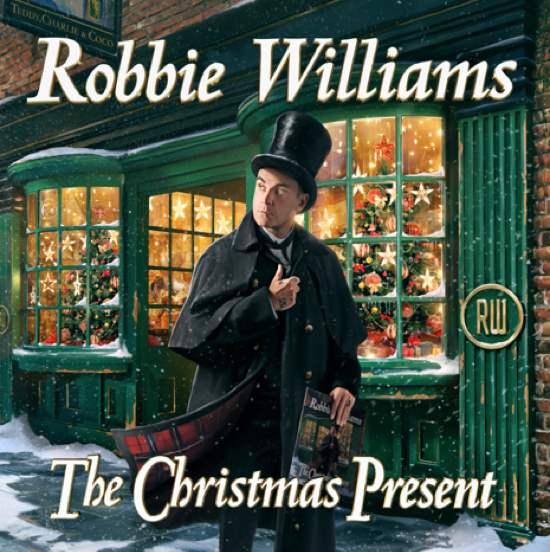 ROBBIE WILLIAMS TO RELEASE HIS FIRST EVER CHRISTMAS ALBUM