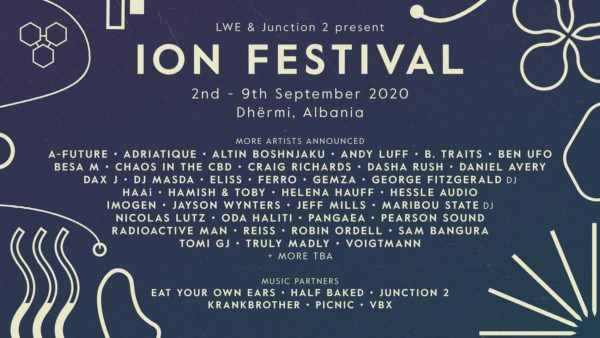 ION FESTIVAL ALBANIA ADDS FURTHER NAMES TO 2020 LINEUP