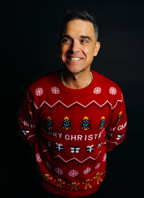 ROBBIE WILLIAMS REVEALS BRAND NEW SINGLE 'CAN'T STOP CHRISTMAS'